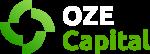 OZE Capital logo inwersja